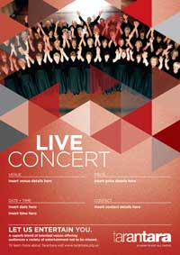 Live Concert Poster 200px
